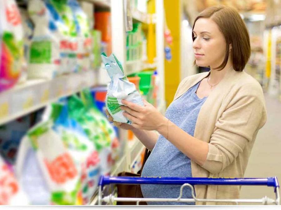 Безопасный детский порошок для новорожденных