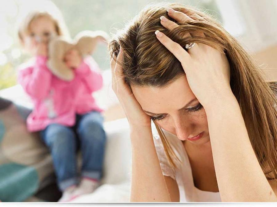 Эмоциональное выгорание у мамы