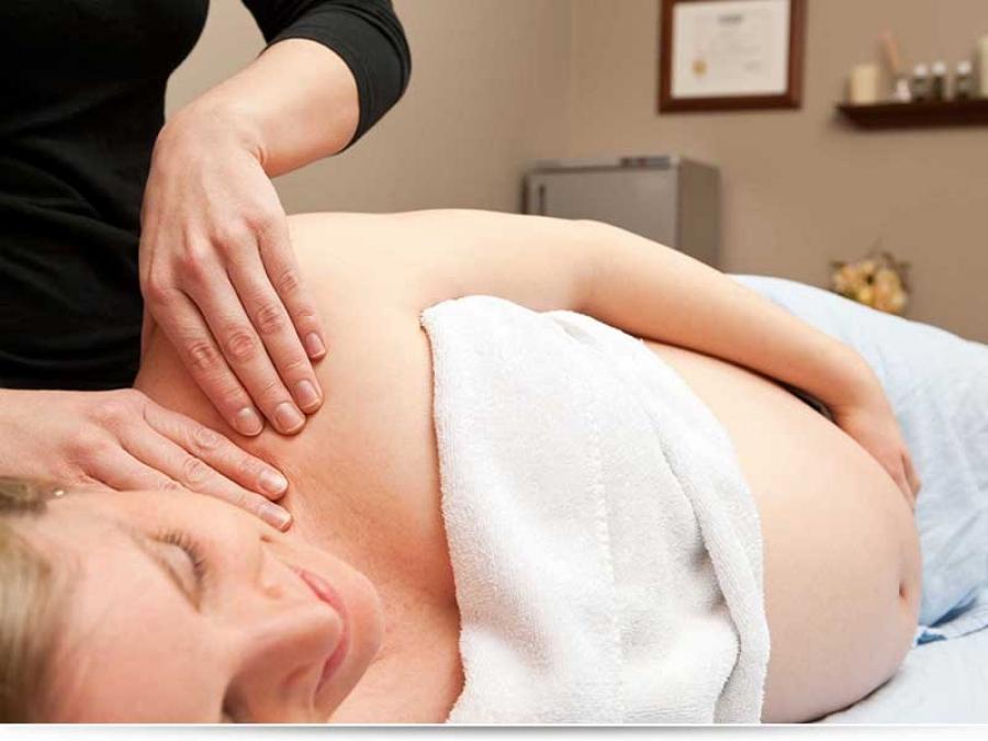 Какой массаж можно беременным?