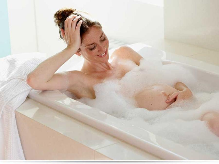 Можно ли беременным принимать горячую ванну?